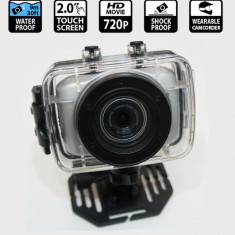 CAMERA FOTO/VIDEO WATERPROOF FILMARI IN APA,BICICLETA,MOTOR,CONDITII EXTREME.