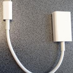 Cablu MICRO USB OTG USB OTG iPhone 5/5S iPad 4 iPad cablu 8 pini