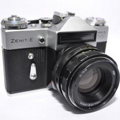 Aparat foto Zenit-E vintage - Aparat Foto cu Film Zenit