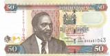 KENYA █ bancnota █ 50 Shillings █ 2006 █ P-47b █ UNC █ necirculata