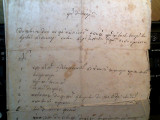 """F O A I E de Z E S T R E""(15 febr. 1864)-ACT NOTARIAL,sat Cucova-Jud.Putna"