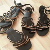 Giuseppe Zanotii- sandale din piele naturala - - Sandale dama Giuseppe Zanotti, Culoare: Negru, Marime: 36, 37, 38, 39, 40
