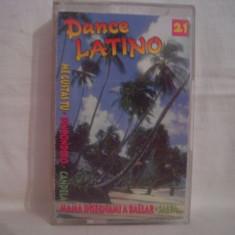 Vand caseta audio Dance Latino, selectie, originala.Muzica latino., Casete audio
