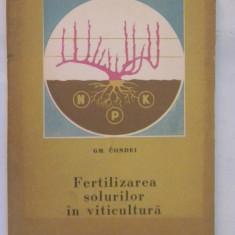 FERTILIZAREA SOLURILOR IN VITICULTURA G.Condei