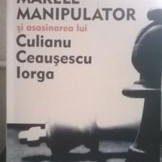 ION COJA MARELE MANIPULATOR SI ASASINAREA LUI CULIANU CEAUSESCU IORGA 2012 440 P