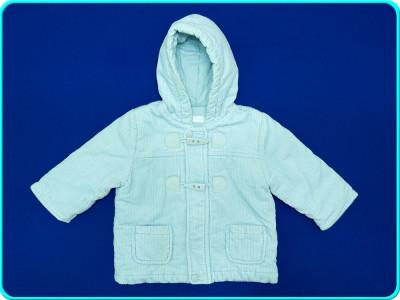 Geaca primavara—toamna, catifea, BABY MAJORAL→ baieti fete | 3—6 luni | 62—68 cm foto