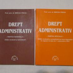MIRCEA PREDA-DREPT ADMINISTRATIV - Carte Drept administrativ
