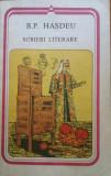 SCRIERI LITERARE - B. P. Hasdeu, 1989