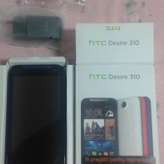 HTC Desire 310 - Telefon HTC, Bleu, Orange, Single SIM, 1 GB