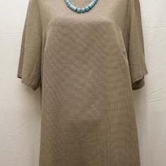 Bluza pepit cu nasturi la spate, NEW NAME-REDUCERE! - Bluza dama, Marime: XL, Culoare: Din imagine, Maneca scurta, Poliester