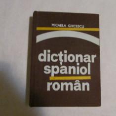 DICTIONAR SPANIOL-ROMAN-autor MICAELA GHITESCU