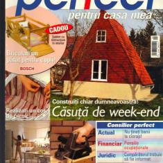 """""""Perfect pentru casa mea"""", revista de consiliere pentru constructii,, 9- 2004"""