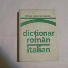 DICTIONAR ROMAN-ITALIAN-autor DOINA CODREA DERER