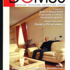 """DOMUS"", revista de amenajari interioare, arhitectura, design, 5  - 2004"