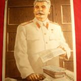 Ilustratie veche color 16, 8 x 22, 5 cm - Josef V.Stalin