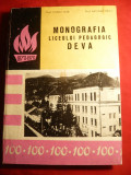 O.Vlad si N.Tarlea- Monografia Liceului Pedagogic Deva- 100 Ani ,Ed. 1970