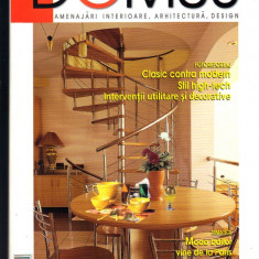 """DOMUS"", revista de amenajari interioare, arhitectura, design, 7  - 2004"