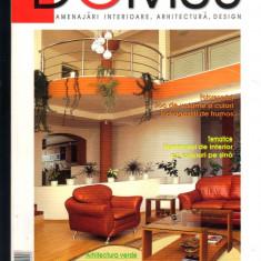 """DOMUS"", revista de amenajari interioare, arhitectura, design, 10  - 2004"