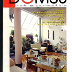 """DOMUS"", revista de amenajari interioare, arhitectura, design, 11  - 2003"