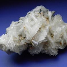 Specimen minerale - BARITINA PE STIBINA - Fosila roca