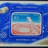 LP 915 J.O. de vara Montreal, colita nedantelata - Timbre Romania