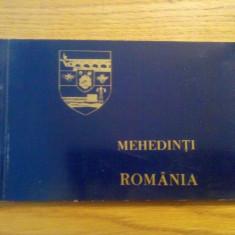 CP.  MEHEDINTI * ROMANIA   -- 26 vederi -- dim:16 * 10 cm -- Necirculata