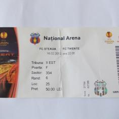 BILET MECI FC STEAUA - FC TWENTE 16.02.2012