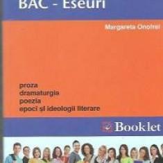 Eseuri BAC - Romana - Teste Bacalaureat booklet