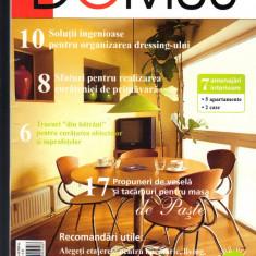 """DOMUS"", revista de amenajari interioare, arhitectura, design, 4  - 2005"