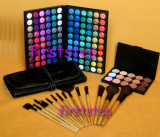 Trusa machiaj farduri 120 culori MAC Set 15 pensule makeup  Fond de ten corector, Mac Cosmetics