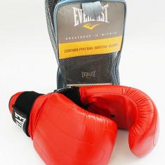 Everlast - Manusi de box Boston - din piele - pt antrenament la sac - masura S - Manusi box