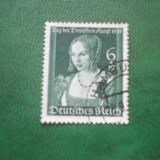 Germania 1939 pictura Durer mi 700 stamp.
