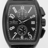 Ceas barbati Balmer Continental Chronograph, nou, SUA, pret lista 7000 lei - Ceas barbatesc, Elegant, Mecanic-Manual, Inox, Piele, Cronograf