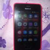 Nokia Asha 501 Dual Sim - roşu - Telefon mobil Nokia Asha 501