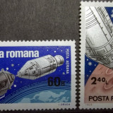 Romania 1969, Apollo 9 si 10, LP 702, nestampilate - Timbre Romania, Spatiu
