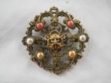 Cumpara ieftin Spectaculosa si Veche Brosa Medalion Scandinava Viking Vintage de Efect Rara