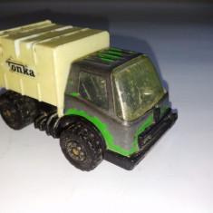 Masinuta TONKA - MASINA DE GUNOI, fabricata in Hong Kong, anii '70( III) - Macheta auto