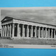 MOKAZIE !!! HOPCT 8032 GRECIA ATENA -TEMPLU LUI THESEUS, Europa, Necirculata, Fotografie