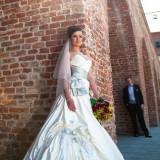 Rochie de mireasă prințesă, linia A - Sophia Tolli, model Pacifica, bestseller