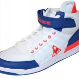 44_Adidasi originali inalti Le Coq Sportif_din panza_alb_in cutie - Tenisi barbati Le Coq Sportif, Textil