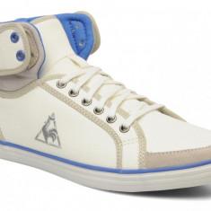 40_Adidasi inalti Le Coq Sportif_tenisi barbati_din panza_alb_in cutie, Textil