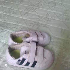 Adidasi marca Adidas - Tenisi copii Adidas, Marime: 21, Culoare: Alb, Unisex, Alb