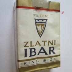PACHET NOU TIGARI COLECTIE ZLATNI IBAR DIN ANII 80 - Pachet tigari