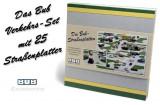 1055.Set 25 placi rutiere 20x20 cm - BUB - scara 1:87