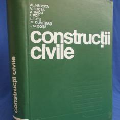AL.NEGOITA - CONSTRUCTII CIVILE - BUCURESTI - 1976