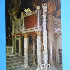 MOKAZIE !!!! HOPCT 8123 ITALIA PALERMO -CAPELA PALATINA, Europa, Necirculata, Printata