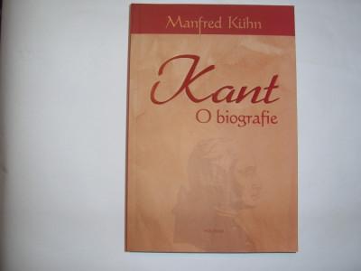 MANFRED KUHN - KANT O BIOGRAFIE,rf2/1 foto