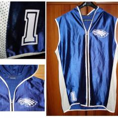 Tricou Hip Hop Eagles Reebok - original usa, Culoare: Albastru, Marime: L, Tricouri