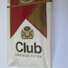 PACHET NOU TIGARI COLECTIE CLUB DIN ANII 80 - Pachet tigari