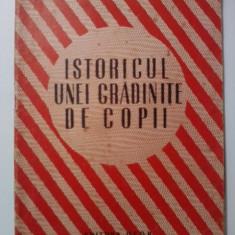 Istoricul unei gradinite de copii - A. Colesnicova, N. Savina / C28P - Carte Epoca de aur